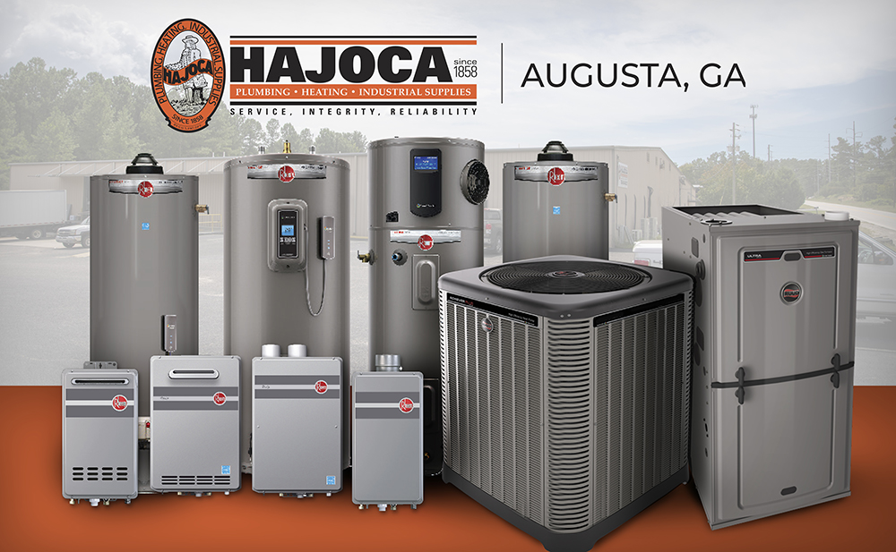 Hajoca Photo Rheem Products